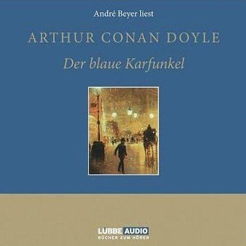 Der blaue Karfunkel audiobook cover art