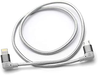 DD MFi05マイクロUSBオーディオデータデコーディングケーブル (50 cm L Plug)