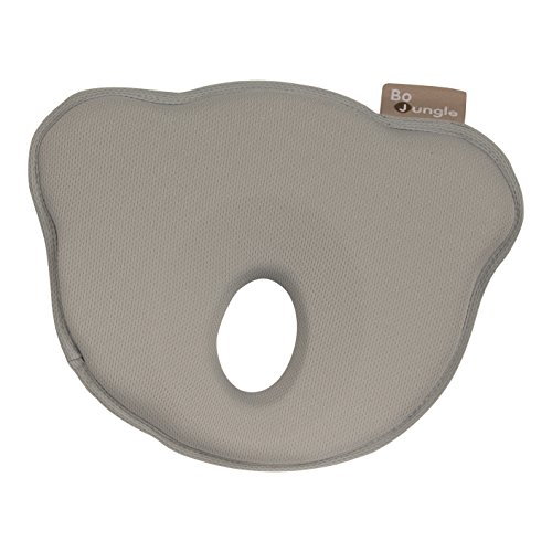 Bo Jungle B-Cosy - Protector para cabeza, unisex, color gris