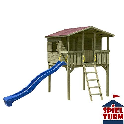 Algodón Casa/stelze hogar Casa de juguete Leon 226x 240x 304cm