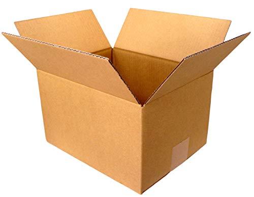 【 日本製 】 ダンボール (段ボール) 5枚セット 60 サイズ 引越し 梱包 収納 箱 (25×20×15cm) dB1-5