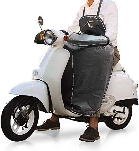 Beinschutz Beinabdeckung Roller, Motorradabdeckung Motorradplane, Universaler Wetterschutz Nässeschutz mit...