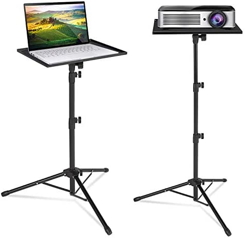 Klvied Projector Tripod Stand Universal Laptop Tripod Stand Portable DJ Equipment Stand Folding product image