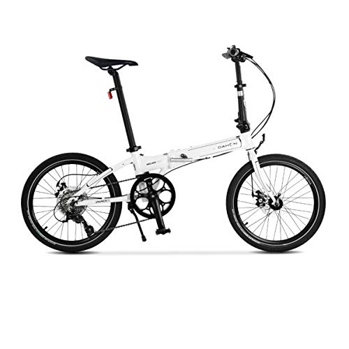 Best Price MUZIWENJU 20 Inch Variable Speed Folding Bicycle, Ultra Light Aluminum Alloy D8/P8 Disc B...