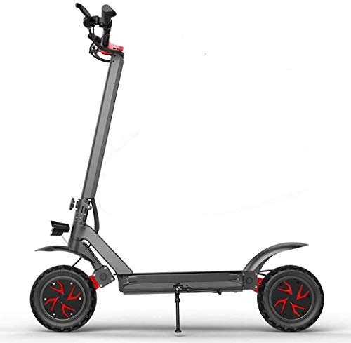 XINTONGSPP Portátil Scooter eléctrico, Solo variador 1000W 52V / 10.4a Compacto, Ligero,...