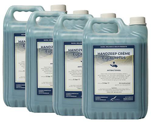 Handzeep Crème Eucalyptus 4 x 5 liter