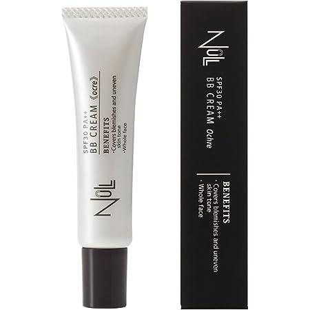 NULL メンズ BBクリーム (メーキャップ効果で 青ひげ/クマ/ニキビ跡 を隠す。 日焼け止め SPF30 PA++ としても) コンシーラー ファンデーション 20g