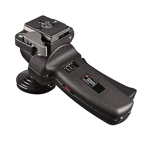 Manfrotto Kugelkopf mit ergonomischem Griff und Friktionsrad, Kugelkopf für Kamerastative, aus Magnesium, leicht und kompakt, Fotoausrüstung, für Content Creation, Video-Blogs, Fotografie