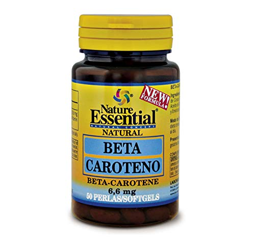 Beta-caroteno 8,2 mg 50 perlas.