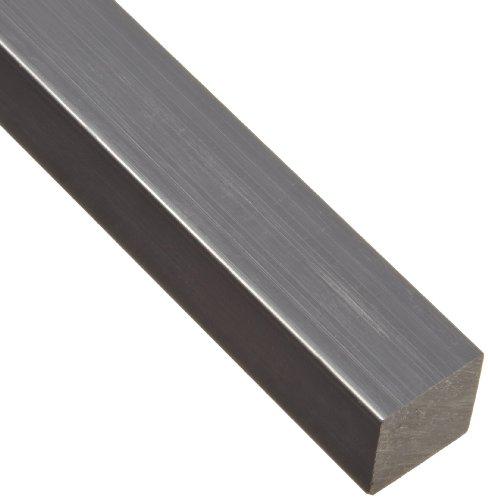 2 Width ASTM D5989 Opaque Off-White 1//2 Thickness Nylon 6//6 Rectangular Bar Standard Tolerance 1 Length