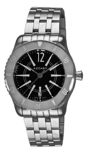 Azzaro AZ2200.12BM.010 Coastline Reloj de pulsera para hombre, esfera negra