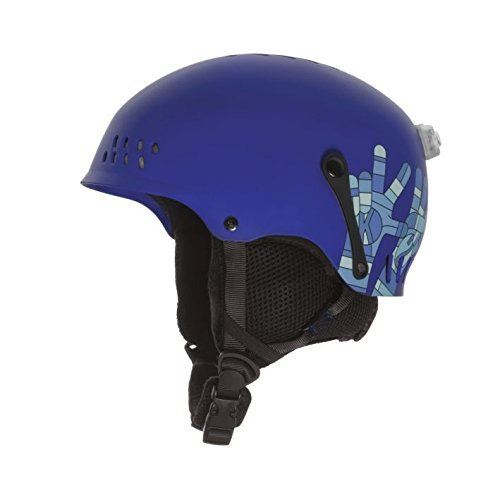 K2 Skis Kinder Entity Helm, Blau, Gr. S