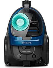 PHILIPS PowerPro Active Royal Blue:2000W, 410W suction power, Power Cyclone 7 technology, new Turbo brush nozzle design, HEPA filter FC9570/62
