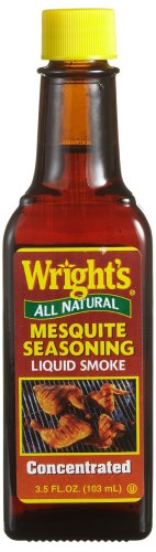 Wright's All Natural Mesquite Seasoning, Liquid Smoke, 3.5-Ounce Bottle (Pack of 12)