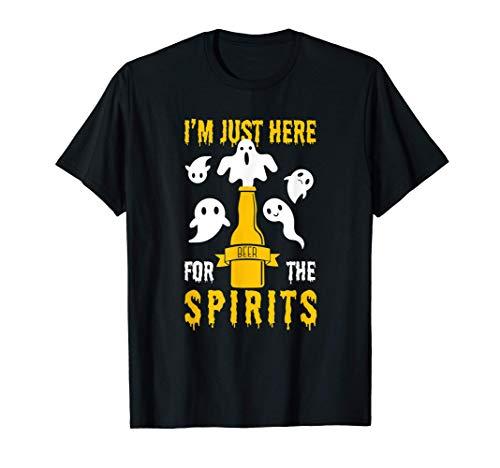 La cerveza de Halloween se bebe sólo aquí para los espíritus Camiseta