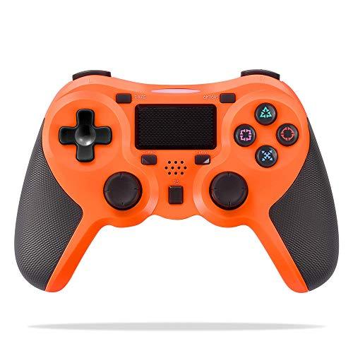 FONCBIEN Controlador Inalámbrico Playstation4, Controlador Inalámbrico Gamepads Manija del Juego Joypad con Los Botones De Activación Playstation 4 y Windows