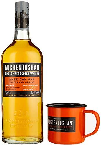 Auchentoshan AMERICAN OAK Single Malt Scotch Whisky 40% Vol. 0,7 l + GB mit Tasse