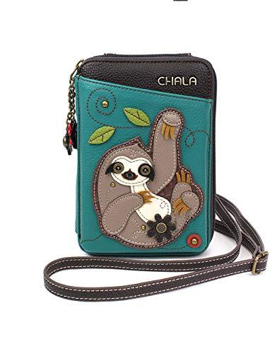 Faux Leather Sloth Handbag