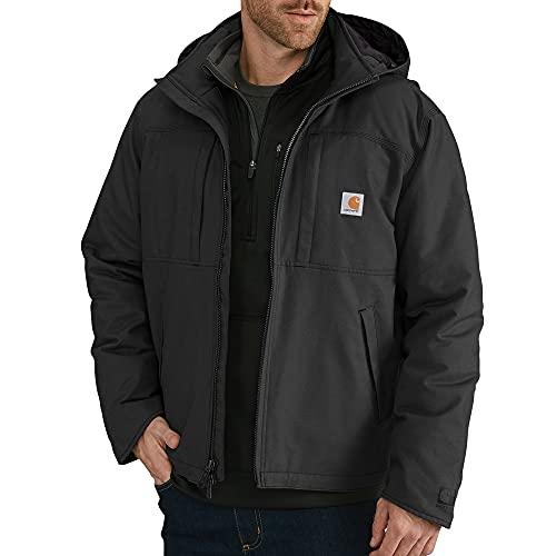 Carhartt Men's Full Swing Cryder Jacket (Regular and Big & Tall Sizes), Black, Small