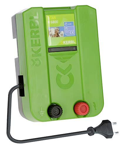 Kerbl Weidezaungerät Titan N 6800, 6.8 J Weidezaun Gerät Stromversorgung Netzgerät 230V
