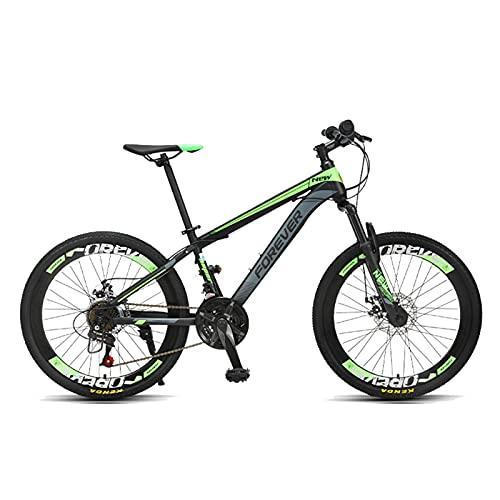 JHTD Bici Bici, Mountain Biking Gioventù Primary Scuola Studenti Variabile Ragazzi Bambini Bambini da 24 Pollici per Auto da 24 Pollici Bicicletta per Auto da 24 Pollici