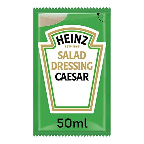 1 caja de 30 unidades Heinz Salsa César bolsita 50ml