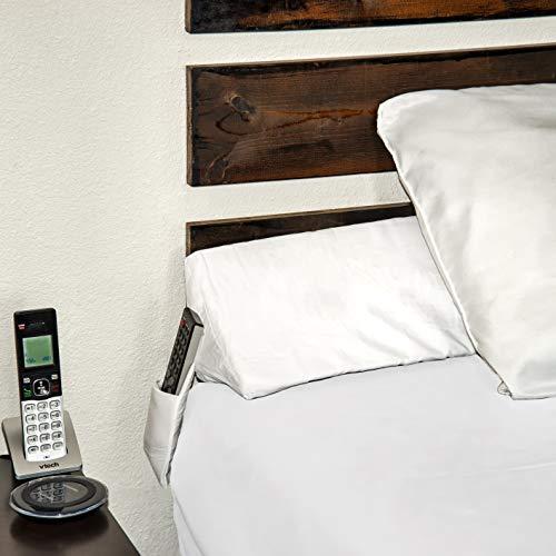 SnugStop Bed Wedge Mattress Filler Wedge (King) Headboard Pillow Gap Filler Between Your Headboard and Mattress Don