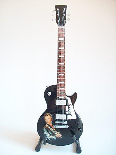 Mini guitarra de colección - Replica mini guitar - Johnny Hallyday -