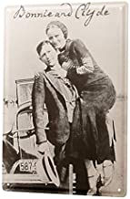 "Bestauseller Tin Sign Bar Restaurant Bonnie and Clyde 12""X8""(20x30cm)"