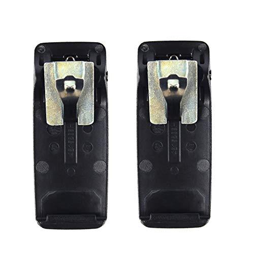 B Blesiya 2 Pinzas para Cinturón para Radios Motorola XPR6300, XPR6350, XPR6380, XPR6550, XPR6580