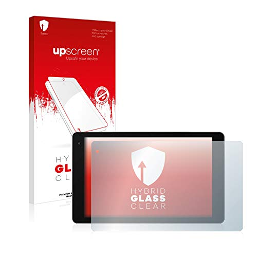 upscreen Hybrid Glass Panzerglas Schutzfolie kompatibel mit Medion Lifetab P10603 (MD 60876) 9H Panzerglas-Folie