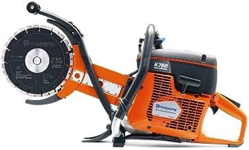 Husqvarna 967195701 K 760 Cut-n-Break Deep Cutting Gas Power Cutter with Set of EL 35 CNB Blades