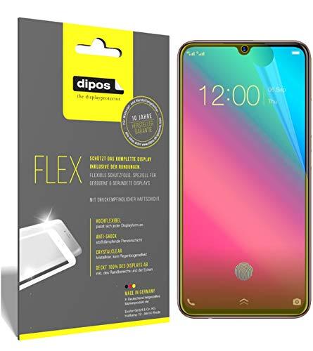 dipos I 3X Schutzfolie 100prozent kompatibel mit Vivo V11 Plus Folie (Vollständige Bildschirmabdeckung) Bildschirmschutzfolie
