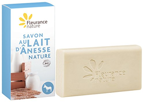 Fleurance Nature Jabon Leche De Burra Natural Sin Perfumes 100Gr. 1 Unidad 200 g