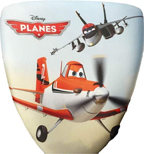 Moebel-action vervangende overtrek rughoes hoes hoes motief Disney Planes vliegtuig voor Topstar kinderen draaistoel S`Cool 3