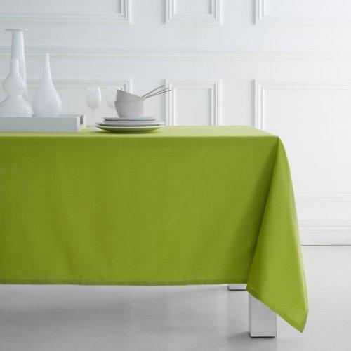 CDaffaires Nappe 100% coton 140x240 cm Vert