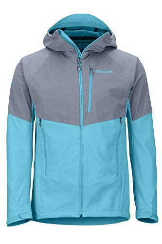 Marmot Rom Jacket Chaqueta Softshell, Chaqueta Outdoor, Anorak, Repelente Al Agua, Transpirable Hombre