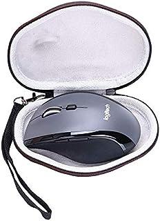 WYAN AE EVA حافظة صلبة لماوس لوجيتك M720 تريثالون متعدد الأجهزة اللاسلكي - حقيبة حمل واقية للسفر