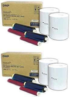 "DNP 2x 4x6"" Dye Sub Media for DS620A Printer, 400 Prints Per Roll, 2 Piece"