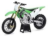 New-Ray Kawasaki KX 450F Green 1/12 Diecast Motorcycle