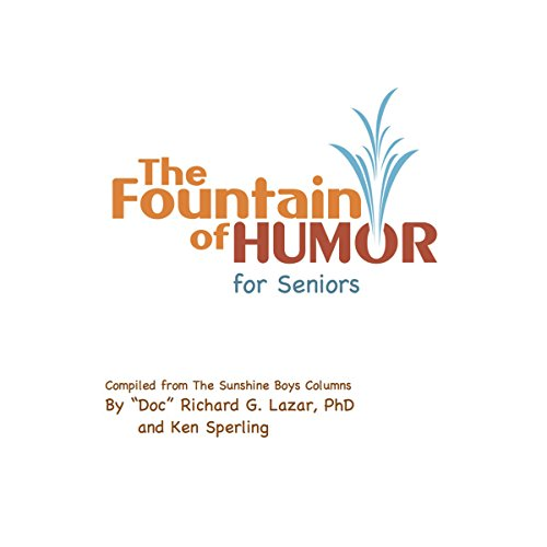 The Fountain of Humor for Seniors audiobook cover art