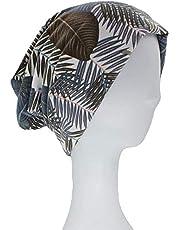 QNN Sombreros de Invierno, Beanie Hat Otoño Invierno Gorros Finos Sombreros de Hojas para Mujeres Hombres Niña Bufanda Cálida Multifunción,Marrón