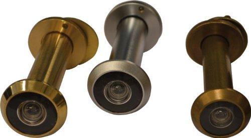 Spioncino Panoramico per Porta Ø14 mm 60-110 mm Ottone Lucido