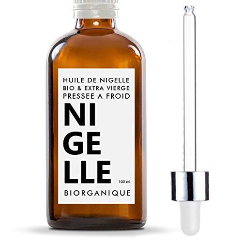 Huile de Nigelle 100% Bio, Pure et Naturelle - 100...