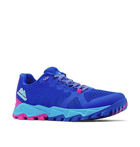 Columbia Trans Alps FKT III, Zapatillas Mujer, Azul Cobalto Fucsia, 39.5 EU