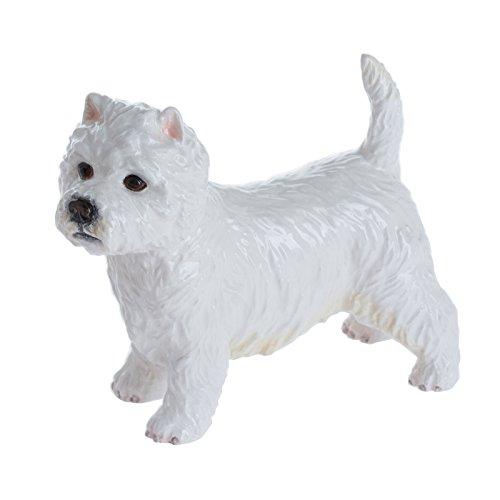 John Beswick West Highland Terrier Figurine, Multicolore