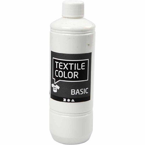 Peinture pour textile Blanc 500 ml