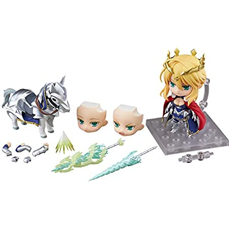 ねんどろいど Fate/Grand Order ランサー/アルトリア・ペンドラゴン&ドゥン・スタリオン ノンスケール ABS&PVC製 塗装済み可動フィギュア