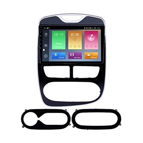 Android 9.1 9 Pollici Autoradio Multimediale per Renault Clio Digital Analog 2012-2016 Supporto Navigatore GPS ad Alta Definizione FM AM RDS MP5 Bluetooth Vivavoce Mirror Link,8 Core,4G+WiFi: 2+32GB
