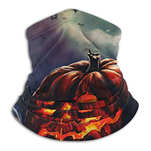 Yuanmeiju Tough Kopfbedeckung,Tube Scarf,Pumpkin Heads For Halloween Outdoor Sports Neck Warmer Headband Bandana
